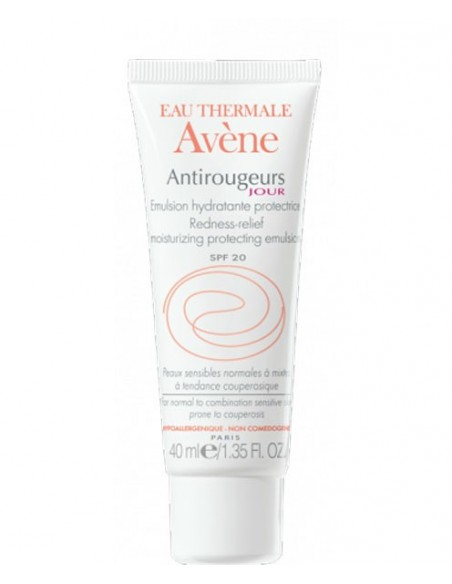 ANTIROUGEURS JOUR AVENE 40ML EMULSION SPF 20