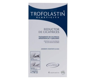 TROFOLASTIN REDUCTOR CICATRICES 5 APOSITOS 4x30 CM