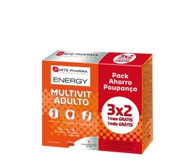 ENERGY MULTIVIT ADULTO 3X2 (1 MES GRATIS)
