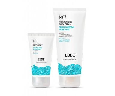 CREMA CORPORAL HIDRATANTE EBBE MC2 200 ML