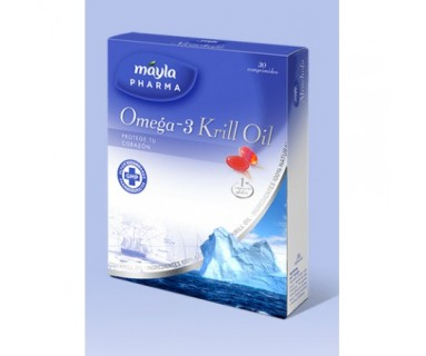OMEGA-3 KRILL OIL MAYLA 30 CAPSULAS