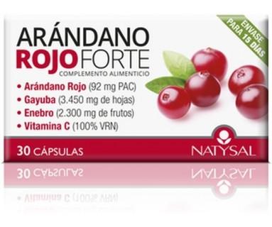 ARÁNDANO ROJO FORTE NATYSAL 30 CAPSULS