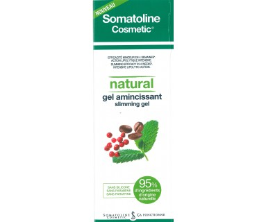SOMATOLINE COSMETIC GEL REDUCTOR NATURAL 250 ML