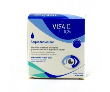 VISAID SEQUEDAD OCULAR 0.2% 30 MONODOSIS