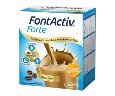 FONTACTIV FORTE SABOR CAFÉ 14 SOBRES (420 GR.)