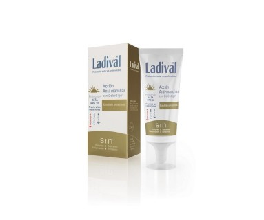 LADIVAL ACCION ANTI-MANCHAS CON DELÉNTIGO FPS 50+ FLUIDO TOQUE SECO 50 ML