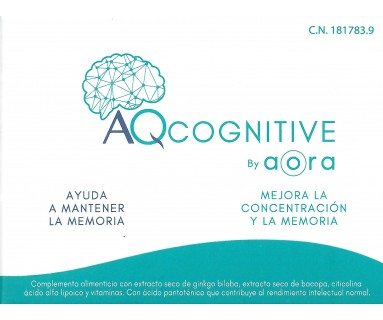 AQCOGNITIVE BY AORA 30 CAPSULAS