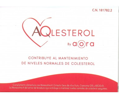 AQLESTEROL BY AORA 30 CAPSULAS