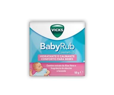 VICKS BABYRUB COSMÉTICO 50 G