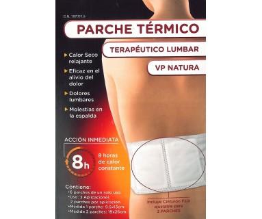 PARCHE TERMICO TERAPEUTICO LUMBAR VP NATURA 6 parches