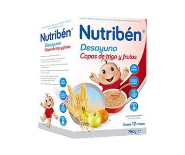 NUTRIBEN COPOS DE TRIGO Y FRUTAS 750 GRAMOS