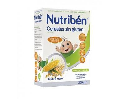 NUTRIBEN CEREALES SIN GLUTEN 300 G.