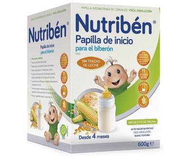 NUTRIBEN PAPILLA INICIO BIBERON 600 GRAMOS
