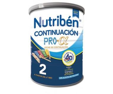 NUTRIBEN CONTINUACION PRO-ALFA 800 GRAMOS