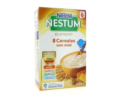 NESTLE NESTUM EXPERT 8 CEREALES CON MIEL Y BIFIDUS 500 G