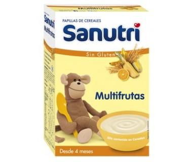 SANUTRI MULTIFRUTAS SIN GLUTEN 300 G