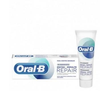 ORAL-B BLANQUEANTE ENCÍAS & ESMALTE REPAIR PASTA 125 ML