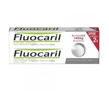 FLUOCARIL BI-FLUORÉ 145 mg. BLANQUEADOR PACK ESPECIAL 2 X 75 ML