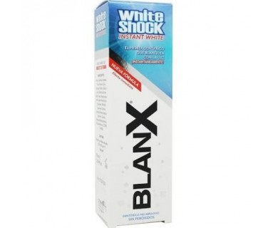 BLANX WHITE SHOCK DENTÍFRICO BLANQUEADOR 75 ML