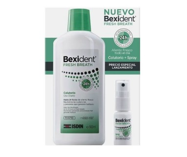 BEXIDENT ALIENTO FRESCO COLUTORIO 500 ML + SPRAY 24 H