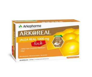 JALEA REAL 1000MG 20 AMPOLLAS