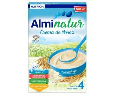 ALMINATUR CREMA DE ARROZ 250 G.