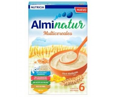 ALMINATUR MULTICEREALES 250 G.
