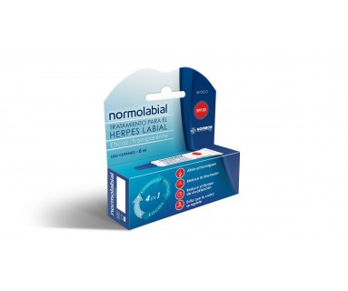 NORMOLABIAL HERPES LABIAL SPF 30 6 ML