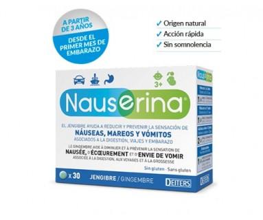 Nauserina 30 comprimidos Deiters