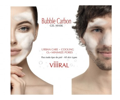 BUBBLE CARBON MASCARILLA DE GEL BY VIIIRAL 100 ML