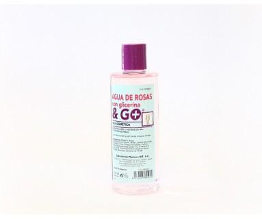 AGUA DE ROSAS CON GLICERINA & GO 250 ML