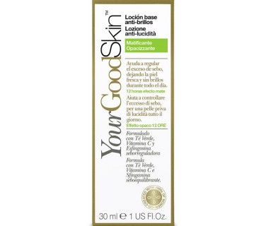 YOURGOODSKIN LOCIÓN BASE ANTI-BRILLOS MATIFICANTE 30 ML