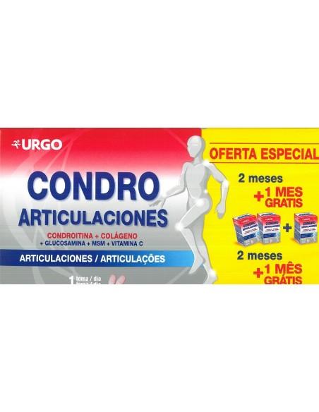 URGO CONDRO ARTICULACIONES PACK 3 MESES 180 COMPRIMIDOS