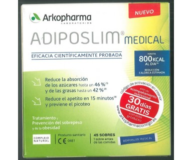 ADIPOSLIM MEDICAL 45 SOBRES ARKOPHARMA