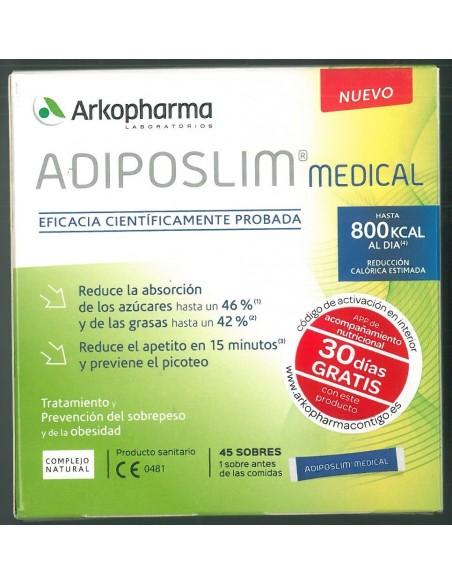 ADIPOSLIM MEDICAL 45 SOBRES ARKOPHARMA