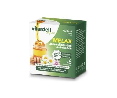 VILARDELL MELAX DIGEST 6 MICROENEMAS VÍA RECTAL