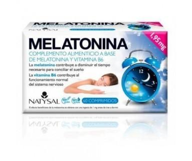 MELATONINA NATYSAL 1,95 MG 60 COMPRIMIDOS