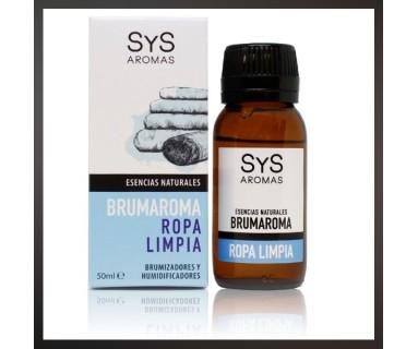 BRUMAROMA ESENCIA NATURAL ROPA LIMPIA 50 ML SYS AROMAS