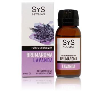 BRUMAROMA ESENCIA NATURAL LAVANDA 50 ML SYS AROMAS