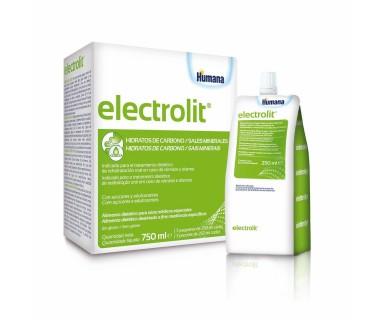 Electrolit Humana Solución Rehidratación Oral 3 x 250ml