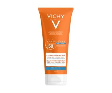 VICHY CAPITAL SOLEIL LECHE MULTI-PROTECCIÓN SPF 50+ 200 ML
