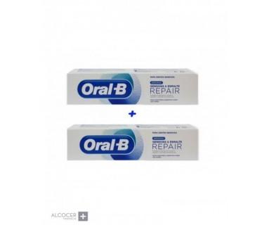 PASTA DENTÍFRICA ORAL-B REPAIR DUPLO 2 X 100 ML