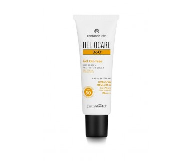 HELIOCARE 360º GEL OIL FREE TOQUE SECO SPF 50 50 ML
