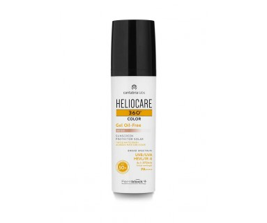 HELIOCARE 360º COLOR GEL OIL FREE BRONCE 50 ML