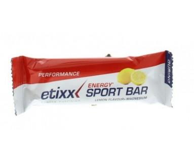 Energy Sport Bar Sabor Limon + Magnesio 30 gr Laboratorio Etixx