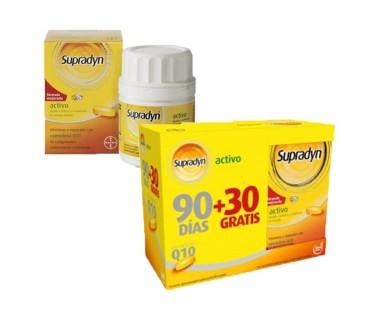 Supradyn Pack Ahorro 90+ 30 comprimidos