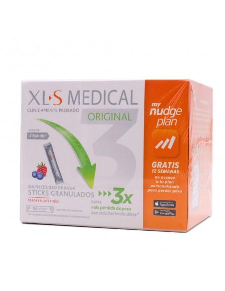 XLS MEDICAL ORIGINAL 90 STICKS FRUTOS ROJOS MY NUDGE PLAN