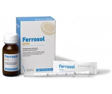 Ferrosol gotas 30 ml + 1 sobre 1.9 gr Viñas