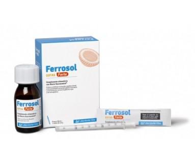 Ferrosol gotas Forte 30 ml + sobre 2.5 gr Viñas