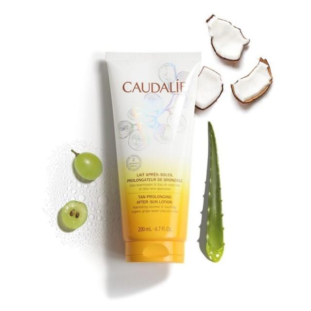 Caudalie Leche After-Sun Coco, Uva y Aloe Vera 200 ml